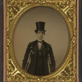 Ambrotipo de 1859.