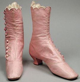 Botas de 1868.