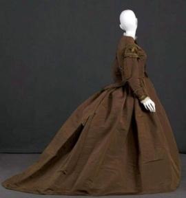 Vestido de 1869.