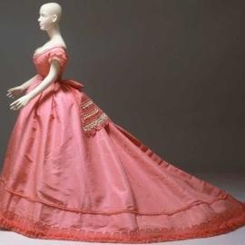 Vestido de 1867.