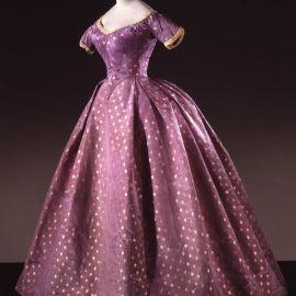 Vestido entre 1860-1865.