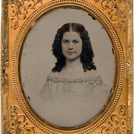 Ambrotipo de 1860.