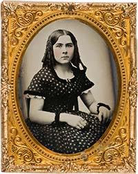 Ambrotipo de 1861.