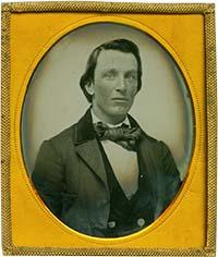 Ambrotipo de 1856.