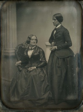 Charlotte Cushman and Matilda Hays