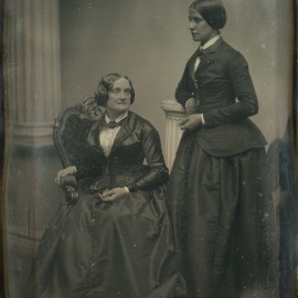 Charlotte Cushman and Matilda Hays